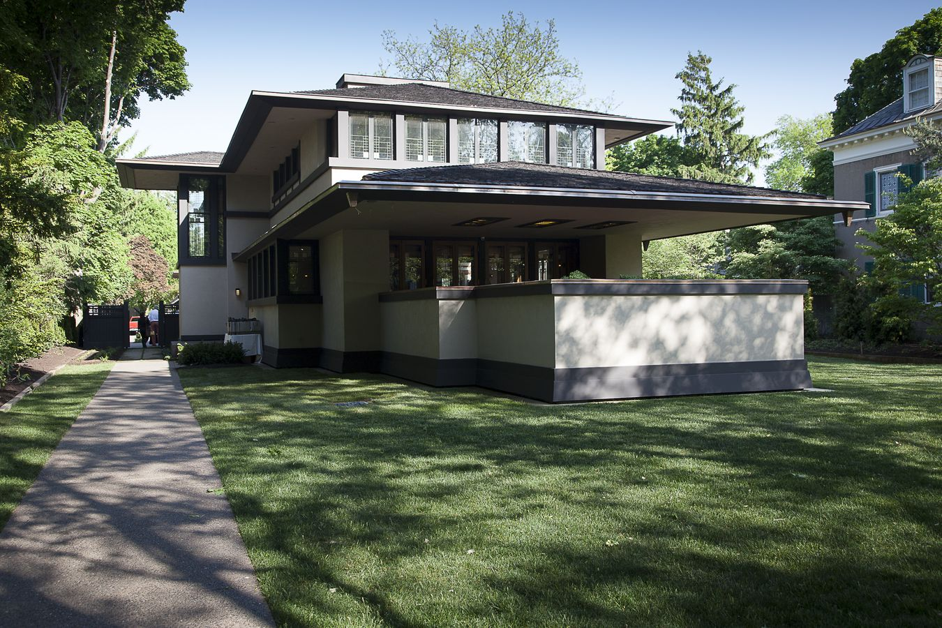 The boynton house a frank lloyd wright designed for Frank lloyd wright house design