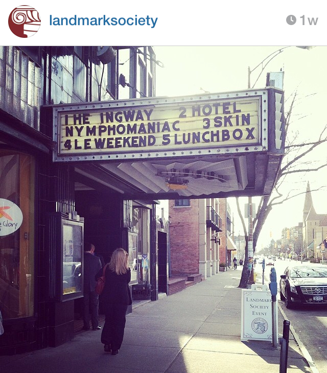 Our first Instagram photo of our Conference HQ, The Little Theatre in Downtown Rochester.