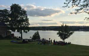 Shake on the Lake 2015 at the Village of Perry Beach in Silver Lake, NY.