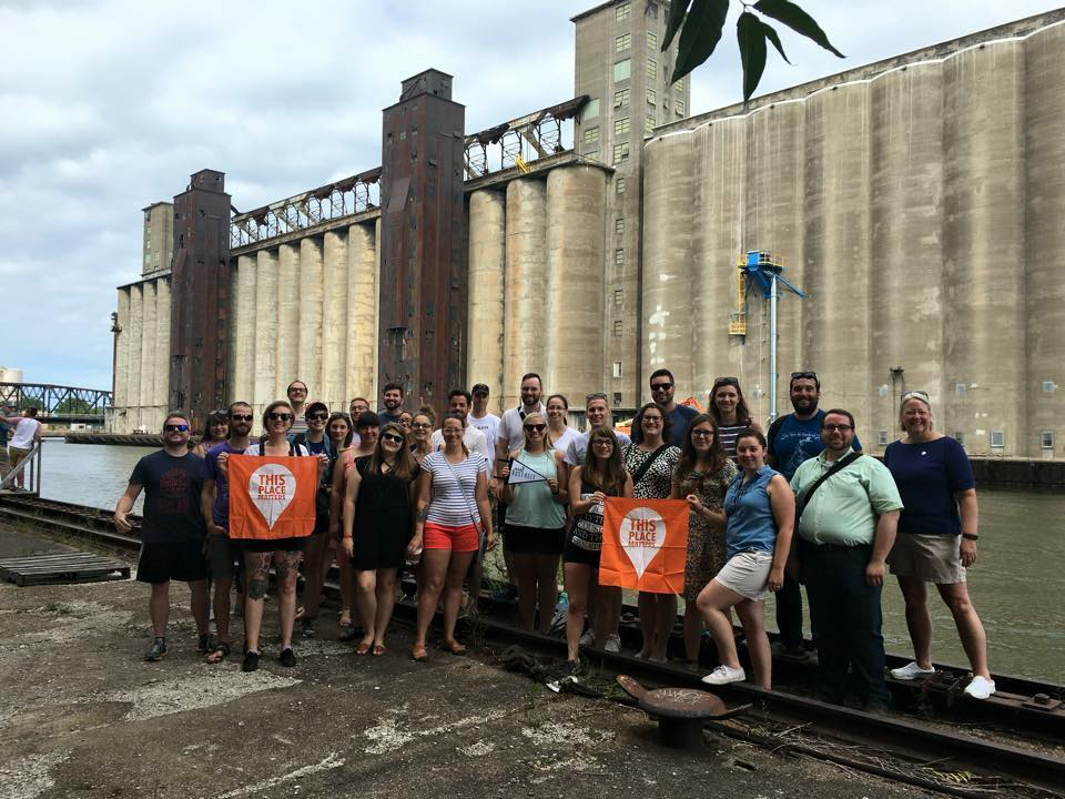 Rust Belt Coalition of Young Preservationists meetup in Buffalo