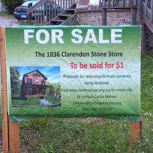 Update from Orleans County: Clarendon Stone Store 1