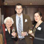 Trustee Jean France and her grandson, Robert Jay Kahn and Brandy Ryan