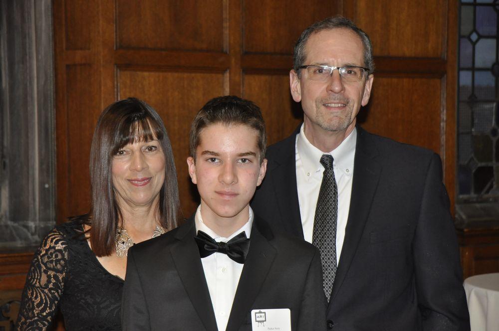 Scholastic Award recipient, Parker Story.