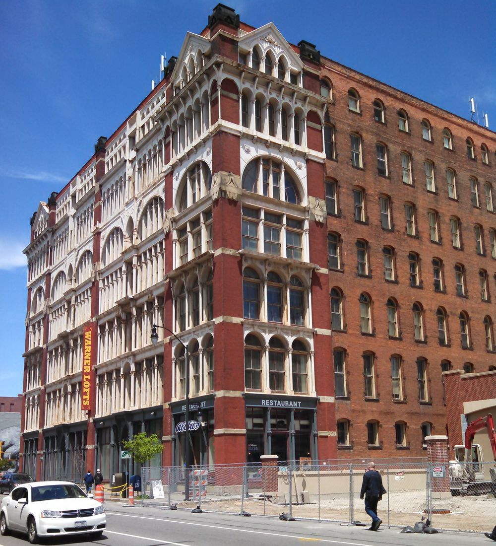 Architecture for Lunch: St. Paul Street Garment District 1