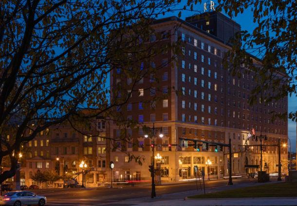 Photo courtesy Renaissance Albany Hotel