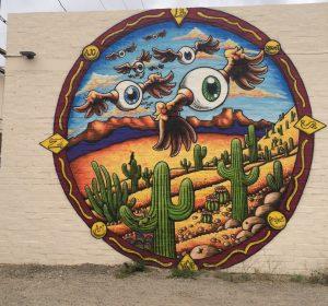Ajo Street Art Project in Ajo, Arizona, 2016.