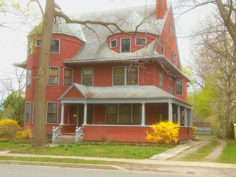 This house at 12-14 Church Street in LeRoy, NY has been home to four generations of the same family since 1901.