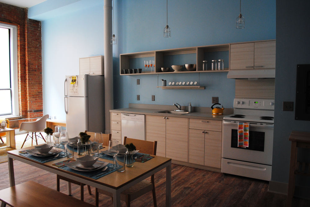 Check out the great kitchen spaces in some of the stops on this year's Inside Downtown Tour.