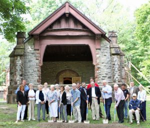 Historic Woodlawn Chapel Rehab Underway 1