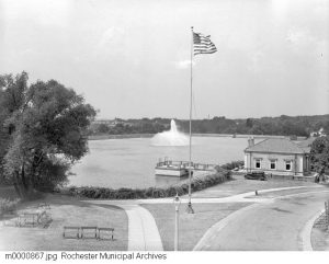 Highland Park Reservoir, 1938
