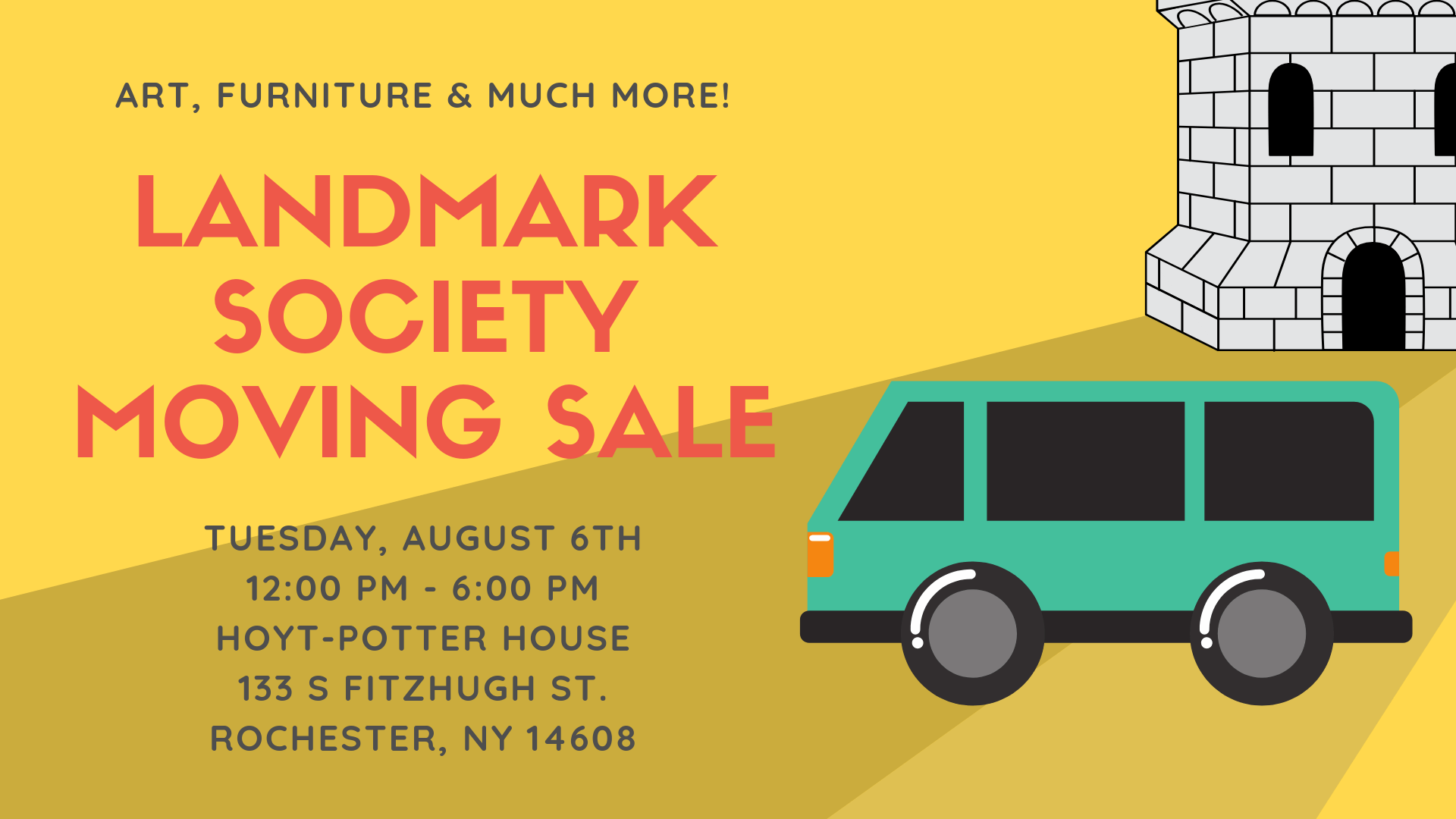 Landmark Society Moving Sale! 1